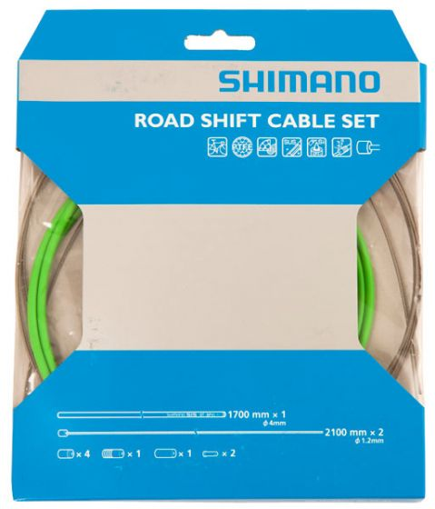 Shimano Dura-Ace 9000 PTFE Coated Road Gear Cable Set