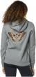 Fox Flutter Womens Pullover Hoodie