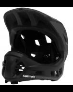 Kiddimoto Ikon Full Face Kids Helmet - Black