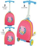 Peppa Pig 3-in-1 Scootin Suitcase
