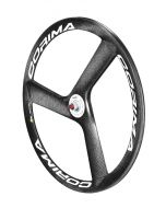Corima 3 Spoke HM Carbon Tubular Track Front Wheel