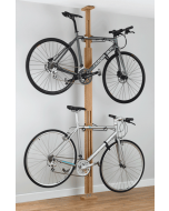 Gear Up OakRak Floor To Ceiling Bike Rack
