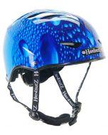 HardnutZ Blue Rain Street Helmet