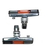 Kool-Stop Cross Pad Threaded Brake Pad/Holder Set