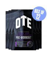 OTE Pre-Workout Drink Sachets 12 x 30g