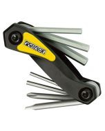 Pedros Folding Hex Set With Screwdrivers