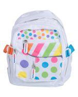Kiddimoto Large Backpack - Pastel Dotty