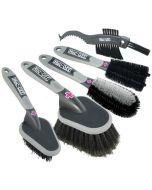 Muc-Off 5x Premium Brush Set