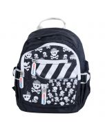 Kiddimoto Small Backpack - Skulls