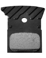 Shimano L02A Resin Disc Brake Pads with Cooling Fins