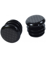 M:Part Carbon Fibre Road Bar End Plugs - Pair