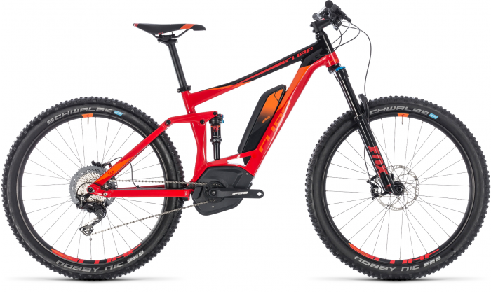 Cube Stereo Hybrid 140 Race 500 27.5-inch 2018 E-Bike