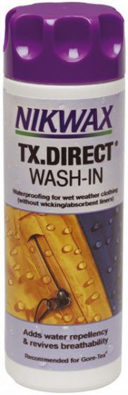 Nikwax TX Direct 100ml Wash In Water Proofing