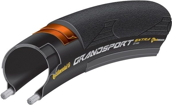 Continental Grand Sport Extra 700c Wire Tyre