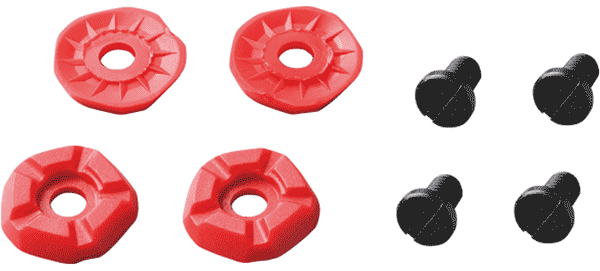 Shimano XC50/XC60 Replacement Low Profile Spike Set