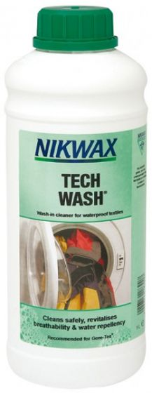 Nikwax Tech Wash 1 Litre Waterproof Fabric Cleaner