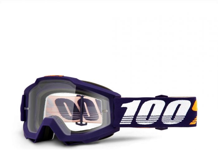 100% Accuri Clear Lens Grib Goggles