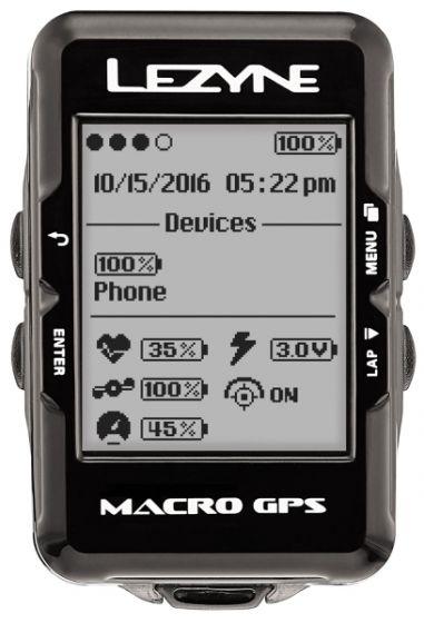 Lezyne Macro GPS Computer Loaded Bundle