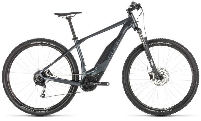 Cube Acid Hybrid One 500 29er 2019 Electric Bike - Grey/White