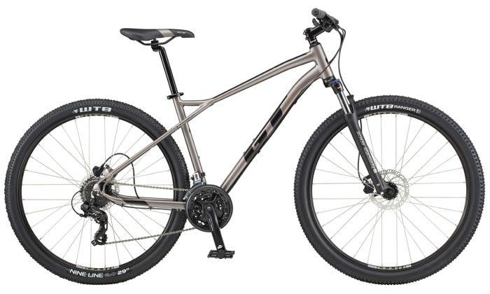 GT Aggressor Expert 2020 Bike - Silver