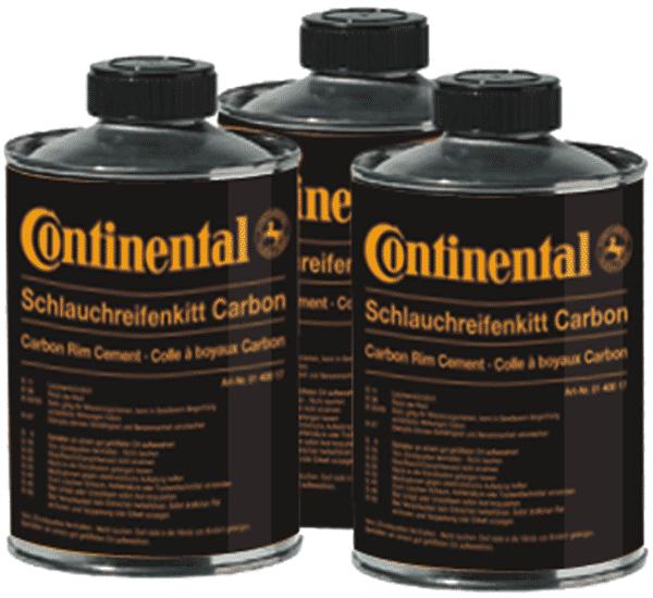 Continental Tubular Carbon Rim Cement 200g Tin