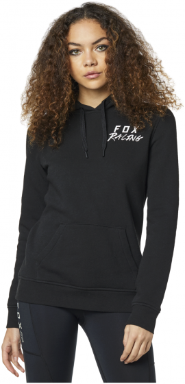 Fox Lapped Womens Pullover Hoodie