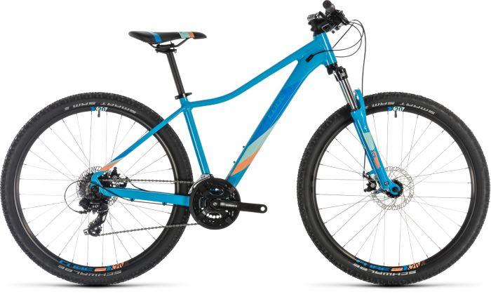 Cube Access WS 2019 Womens Bike - Reef Blue/Apricot