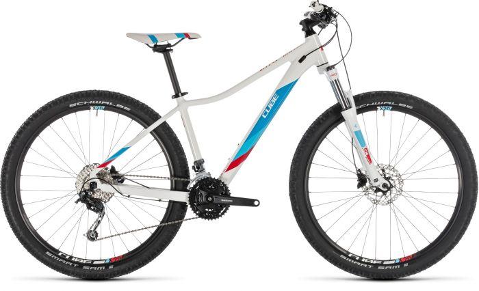Cube Access WS Pro 2019 Womens Bike - White/Blue