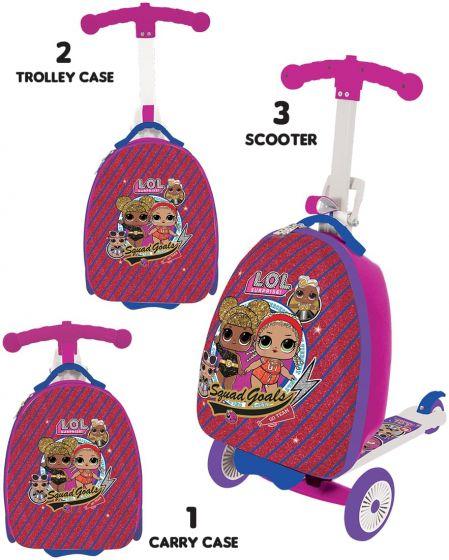LOL Surprise 3-in-1 Scootin Suitcase