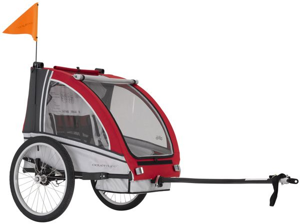 Adventure AT6 Two Seater Bicycle Trailer