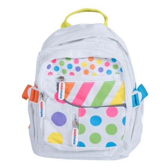 Kiddimoto Small Backpack - Pastel Dotty