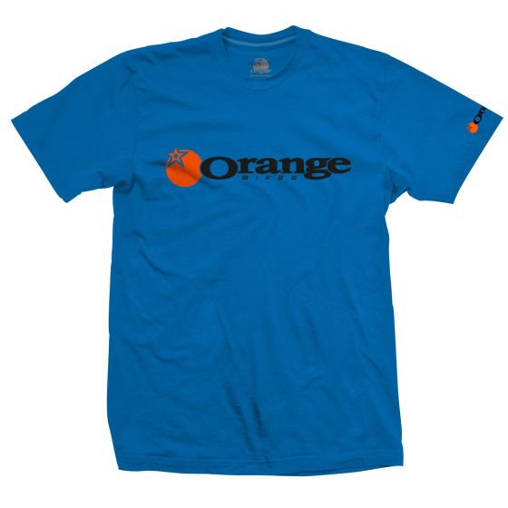 Orange Corporate T-Shirt - Blue