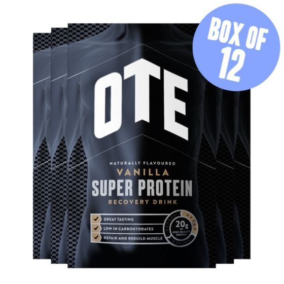 OTE Super Protein Recovery Drink Sachets 12 x 35g