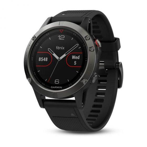 Garmin Fenix 5 GPS Watch - Slate Grey/Black