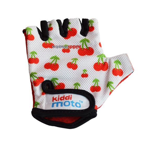 Kiddimoto Cycling Gloves - Cherry
