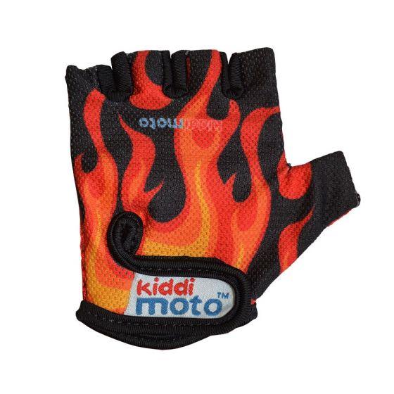 Kiddimoto Cycling Gloves - Flames