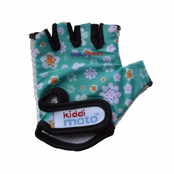 Kiddimoto Cycling Gloves - Fleur