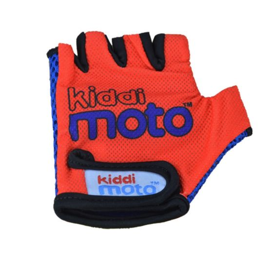 Kiddimoto Cycling Gloves - Red