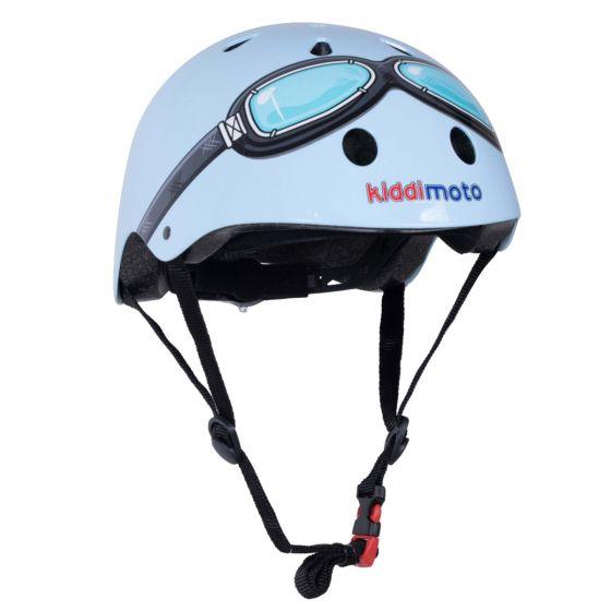 Kiddimoto Helmet - Blue Goggle