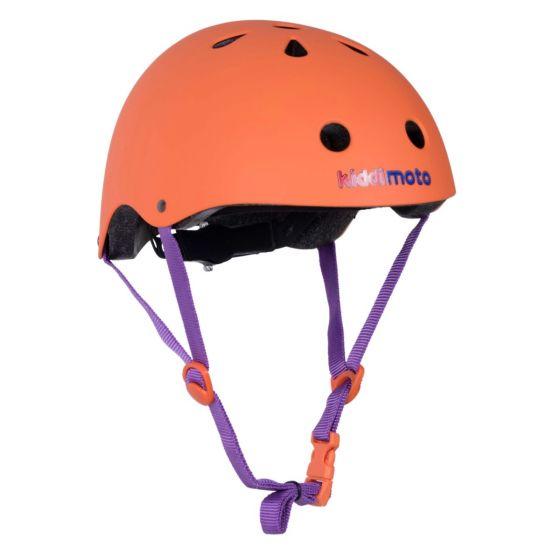 Kiddimoto Helmet - Matte Orange