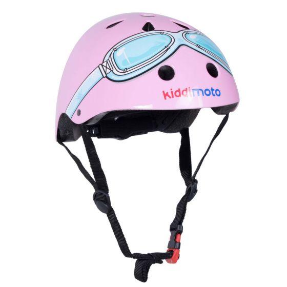Kiddimoto Helmet - Pink Goggle
