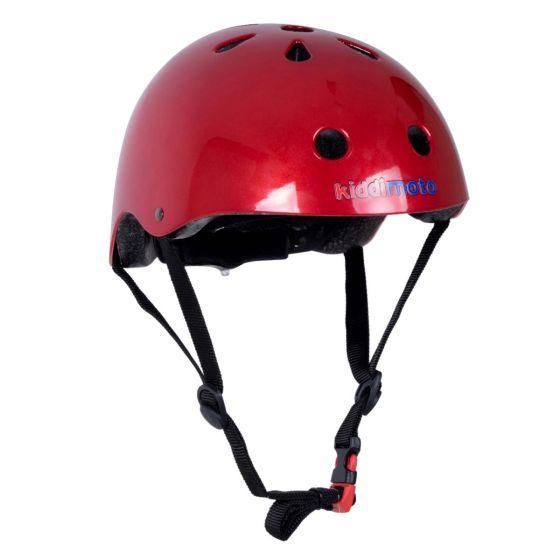 Kiddimoto Helmet - Metallic Red