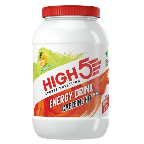 High5 Energy Drink Caffeine Hit - 1.4kg Tub - Citrus