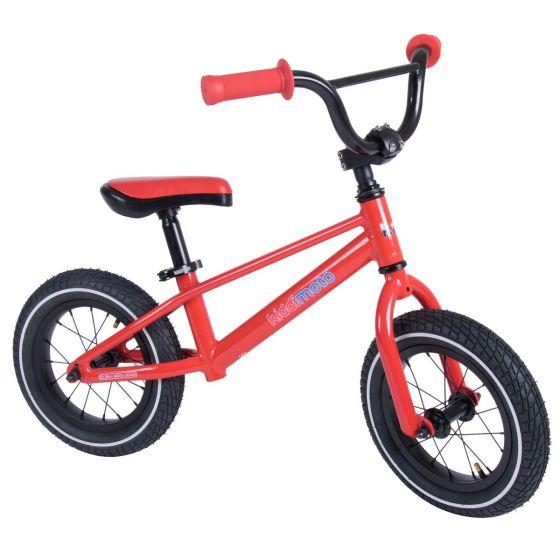 Kiddimoto BMX 12-inch Balance Bike - Red