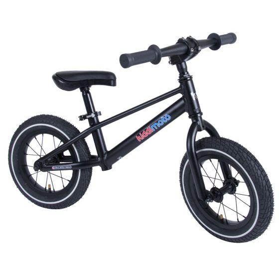 Kiddimoto Mountain 12-inch Balance Bike - Black