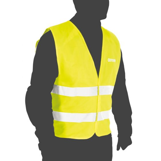Oxford Bright Vest Packaway - Yellow