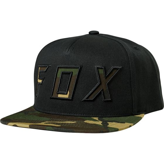 Fox Posessed 2018 Snapback Hat - Black