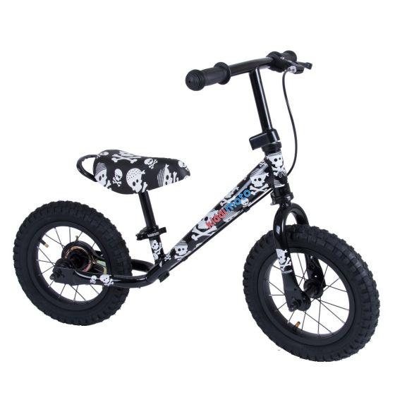 Kiddimoto Super Junior Max 12-inch Balance Bike - Skullz