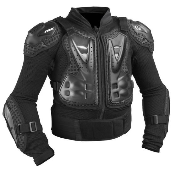 Fox Titan Youth Sport Jacket Long Sleeve Body Armour
