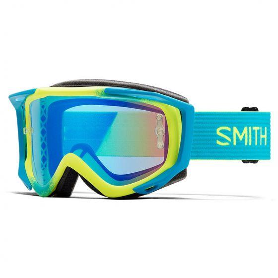 Smith Fuel V.2 2018 Goggles - Acid Split/ChromaPop Contrast Rose Flash